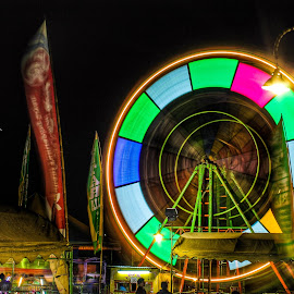 some festival by Dhito Riyadi - Abstract Light Painting ( night photography, bulb, holidays, festival, long, nightscape, light art )