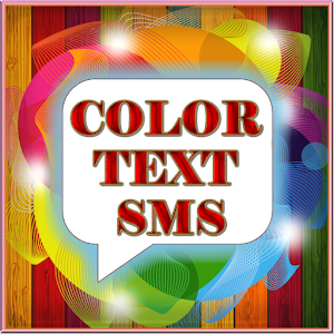 Make color text sms, card,wishing card,chat on board,drawing,in your languages. APK Icon