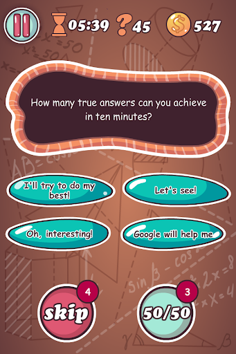 100 Answers - screenshot