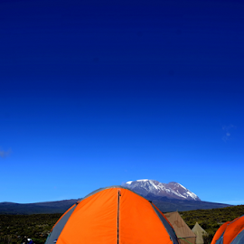 On the way to Kilimanjaro by John Anthony - Sports & Fitness Climbing