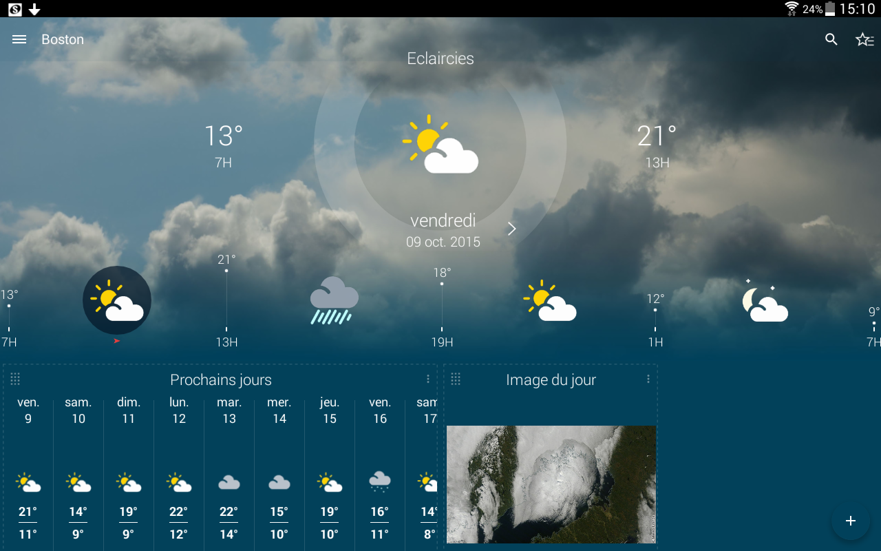 Météo-France Screenshot 10
