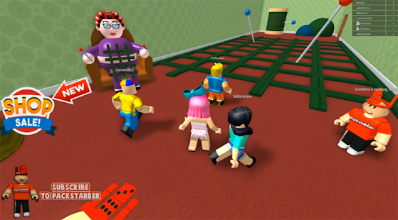 New escape grandmas in roblox house