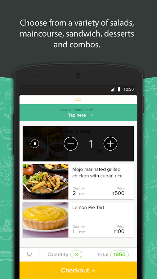 Freshmenu: Fresh Food Delivery Screenshot 1