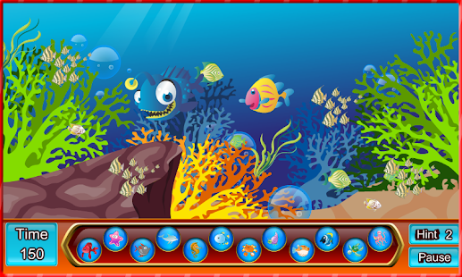 Hidden Object : Fun fish - screenshot
