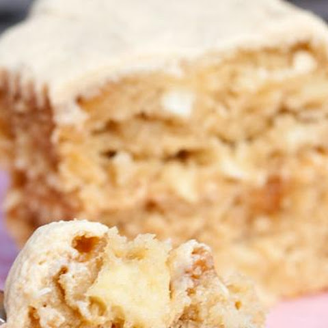 Caramel Apple Cake By Mommie Cooks