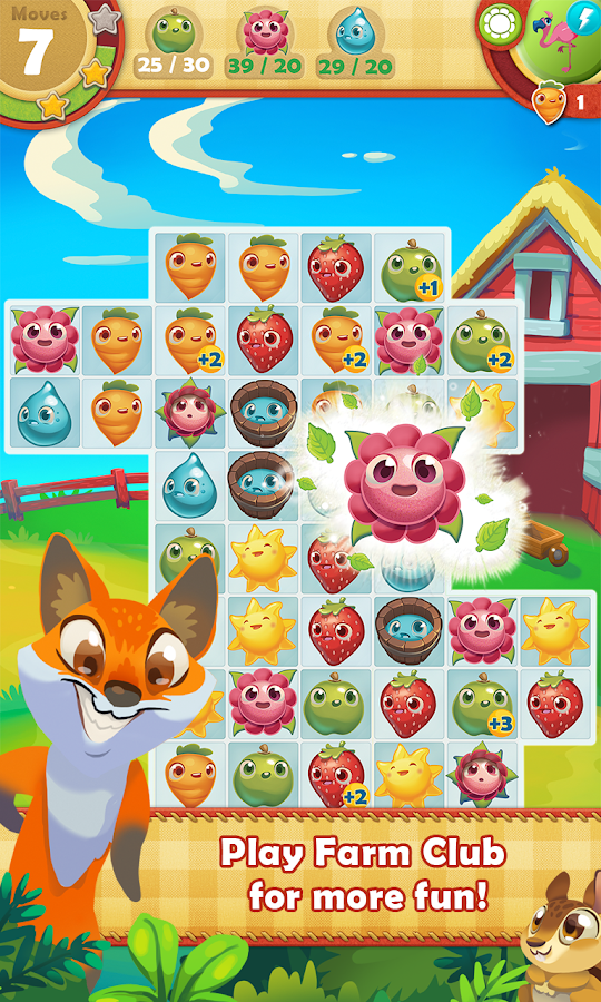 Farm Heroes Saga Screenshot 1