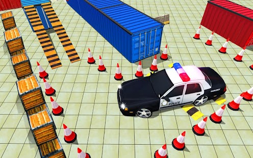 Multistory Police Car Parking Mania 3D