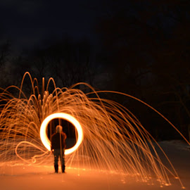 Portal by Rudd Redding - Abstract Light Painting