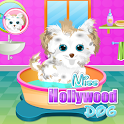 Miss Hollywood Dog Care Do you want to help out the glamorous miss Hollywood by taking care of her cute dog? Miss Hollywood APK Icon