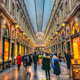 Bruxelles by Mihai Popa - City,  Street & Park  Markets & Shops
