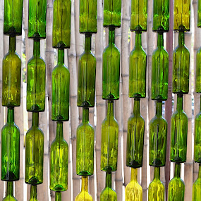 The Wall of Wine by Amanda Koenigs - Artistic Objects Glass