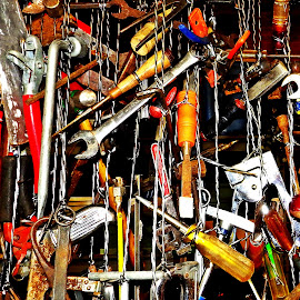 hanging tools by Martin Stepalavich - Artistic Objects Industrial Objects
