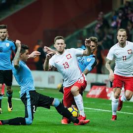 Poland vs. Uruguay by Paweł Mielko - Sports & Fitness Soccer/Association football ( polish national team, national, action, sport, nikon, uruguay, sport photography, soccer, poland,  )