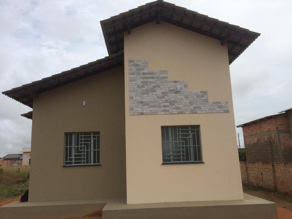 Casa com 2 dormitórios à venda, 50 m² por R$ 160.000 - Said Salomão - Boa Vista/RR