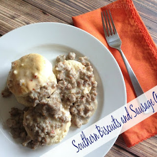Southern Biscuits and Sausage Gravy