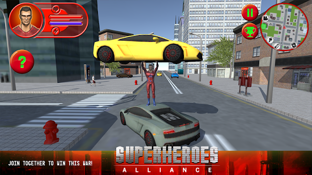 Superheroes Alliance apk screenshot