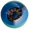 Download Tiny Planet - Globe Photo APK on PC