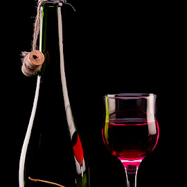Red Red Wine  #3 by Rakesh Syal - Artistic Objects Still Life (  )