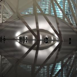 Ojo by Jose Antonio Doñate Vicen - Buildings & Architecture Architectural Detail ( museo de las ciencias - valencia )