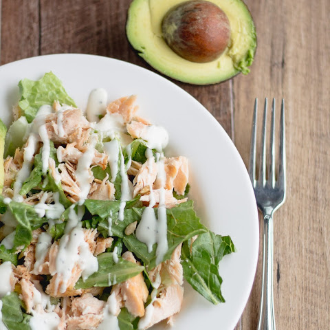 Grilled Salmon Salad With Avocado