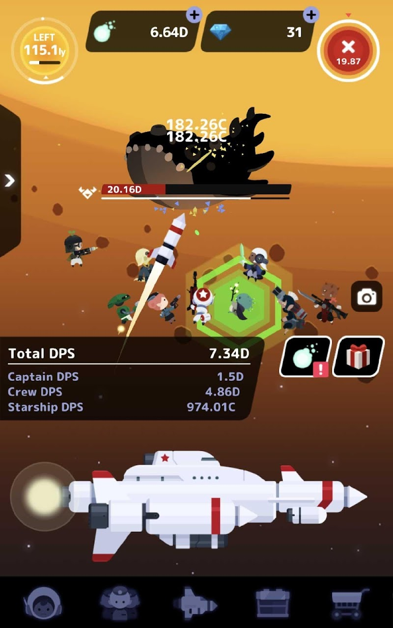 Tap! Captain Star Screenshot 13
