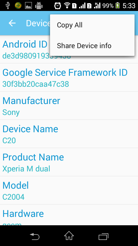 Device ID Changer Pro [ADIC] Screenshot 6