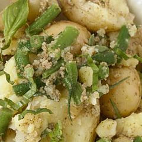 Mediterranean Potato Salad with Haricots Verts