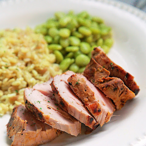 Cajun Dijon Grilled Pork Tenderloin