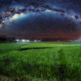 CHASING MILKYWAY  by Chase Alog - Landscapes Starscapes