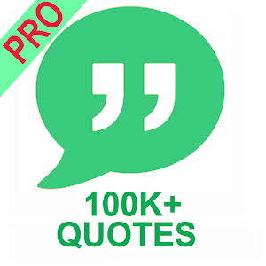 Quotes Pro - 100K+ Famous Quotes For PC / Windows 7/8/10 / Mac – Free Download