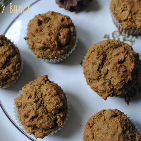 Insanely Healthy Sweet Potato Flax Muffins