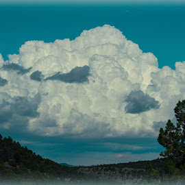 Rainclouds by Julie Morris Perry - Landscapes Cloud Formations