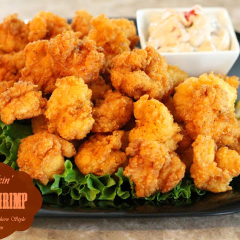 Kickin' Fried Shrimp