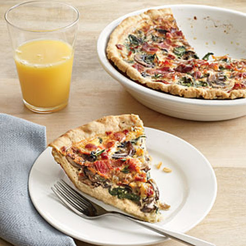 Mini Spinach and Mushroom Quiches Recipe | Yummly