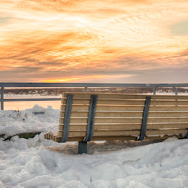Waiting for summer by Dominic Thibeault - City,  Street & Park  City Parks