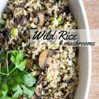 Wild Rice & Mushrooms