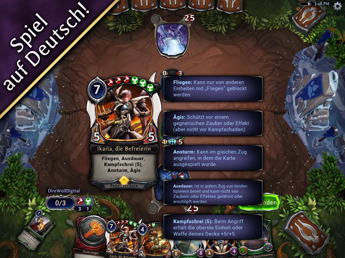 Ewiges Kartenspiel android spiele download