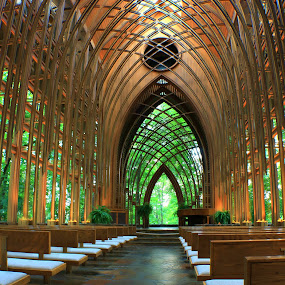 COOPER MEMORIAL CHAPEL by Dana Johnson - Buildings & Architecture Places of Worship ( church, chapel, architecture, worship, arkansas )