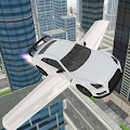 Flying Car Sim APK for Bluestacks