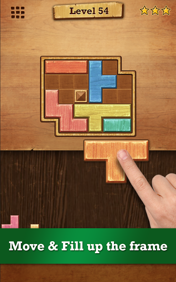 Wood Block Puzzle Screenshot 1