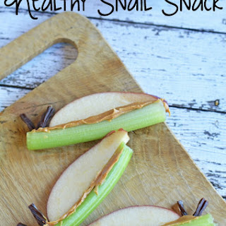 Healthy Snail Snack