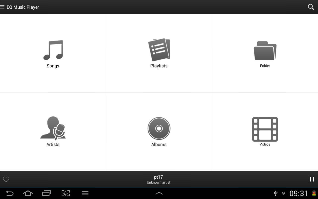 Equalizer Music Player Pro Screenshot 5