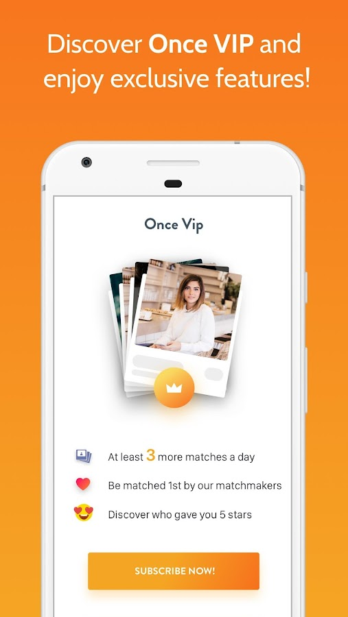 Once - the Slow Dating App Screenshot 4