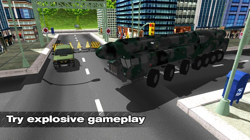 android Bomb Transport Russian Truck Screenshot 0