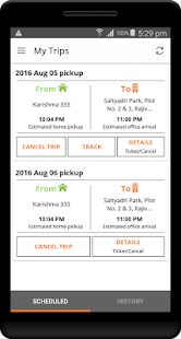 SmartCommute - screenshot