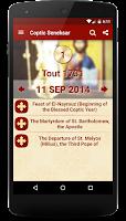 Screenshot of Coptic Seneksar