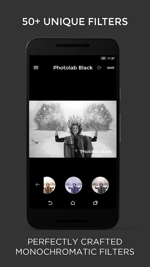 Photo Editor - Black and white Screenshot 5