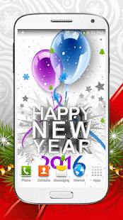 New Year Live Wallpaper HD - screenshot