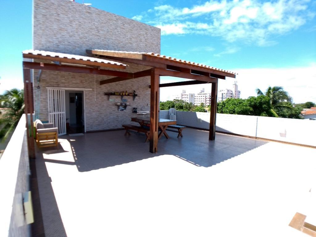 Apartamento com 2 dormitórios à venda, 76 m² por R$ 285.000 - Poço - Cabedelo/PB
