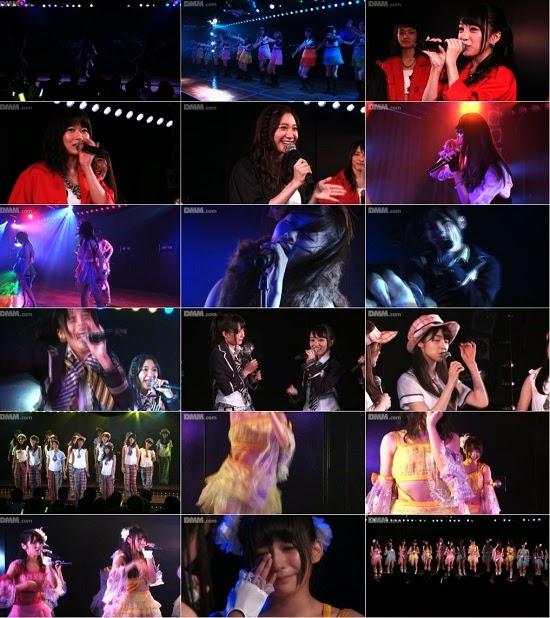 "(LIVE)(公演) AKB48 チーム4 ""アイドルの夜明け"" 佐々木優佳里の生誕祭 140911"